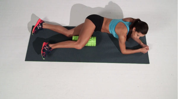 Foam Rolling Adductor