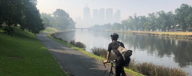 Smoke haze and exercise