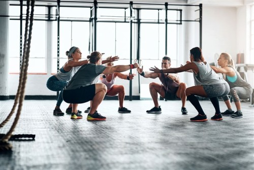 Group Training Fitness Trend